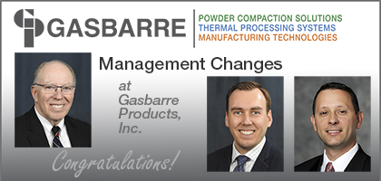 Management Changes at Gasbarre