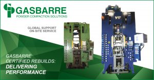 Gasbarre Powder Compaction Solutions - Certified ReBuilds