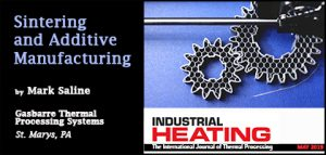 Sintering and Additive Manufacturing