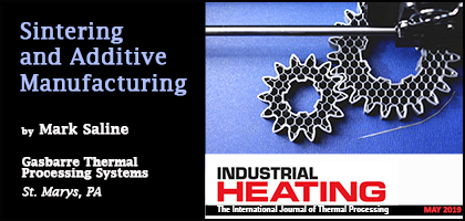 Mark Saline Article Published in Industrial Heating Magazine