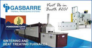 PowderMet 2019 Gasbarre - heat treating furnaces