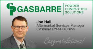Gasbarre - Joe Hall Promotion