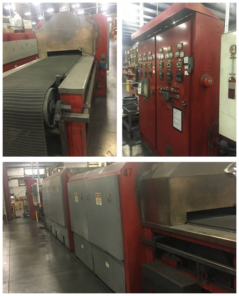 Refurbished Electronic Continuous Belt Furnace