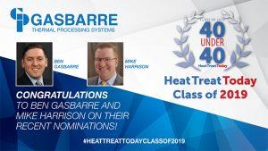 Heat Treat 40 under 40 Class 2019