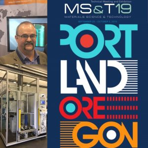 MS&T 2019 Materials Science & Technology
