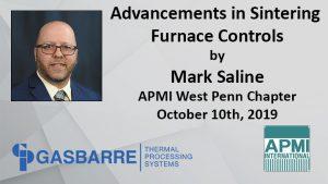 APMI Advancements in Sintering Furnace Controls