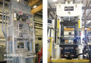 Gasbarre Hydraulic Press ReBuild
