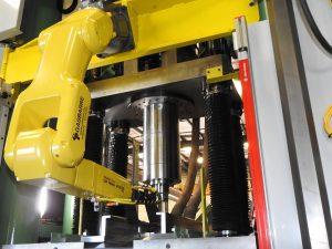 Gasbarre Fanuc Robotic Press Arm