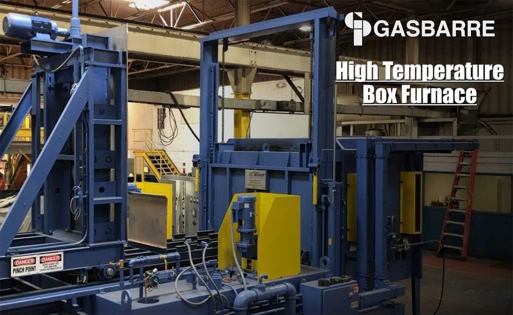 Meet the High Temperature Box Furnace that is 	designed to meet your strict process requirements, manufacturing methods, and eliminates the need for a quench pit!