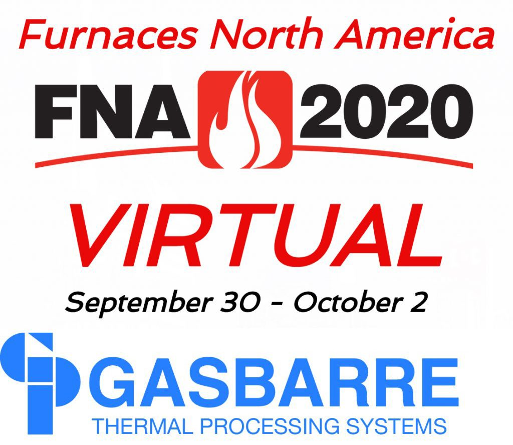 Furnaces North America Virtual Trade Show is next week!  Gasbarre's team will be there, will you?