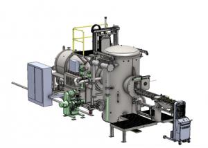 Versatile Vacuum Oil Quench Furnace System