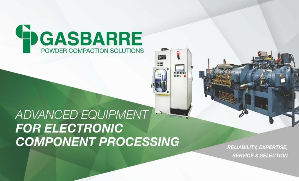 Gasbarre Advanced Equipment for Electronic Components