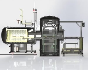 Dual Chamber Oil Quench Furnace