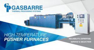 Gasbarre High Temperature Pusher Furnace Pusher Furnace