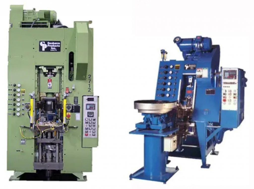 Are you in need of a coining and/or sizing press? Gasbarre has what you need!